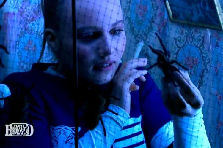 """""""Fort Boyard"""" : Carla Lazzari fait face à sa phobie des araignées, ce soir sur France 2 (vidéo)"""