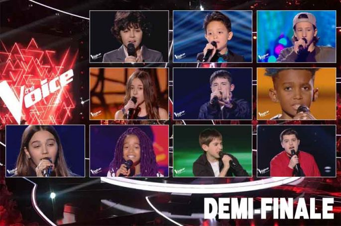 "Replay ""The Voice Kids"" vendredi 18 octobre : les 16 prestations de la demi-finale (vidéo)"