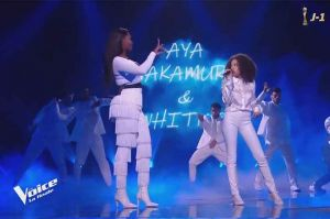 "Replay ""The Voice"" : Whitney & Aya Nakamura chantent « Djadja » en finale (vidéo)"