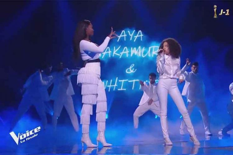 "Replay ""The Voice"" : Whitney & Aya Nakamura chantent « Djadja » en finale (vidéo)"
