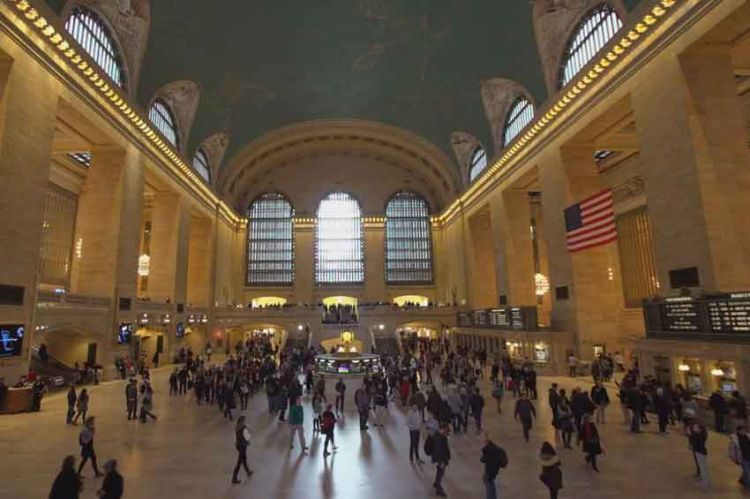 """Reportages découverte"" en immersion à Grand Central, la gare de New York, ce 20 juillet sur TF1"