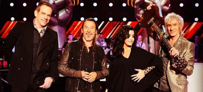 "Vidéo Replay ""The Voice"" : regardez les coachs qui interprètent « Start me up » des Rolling Stones"