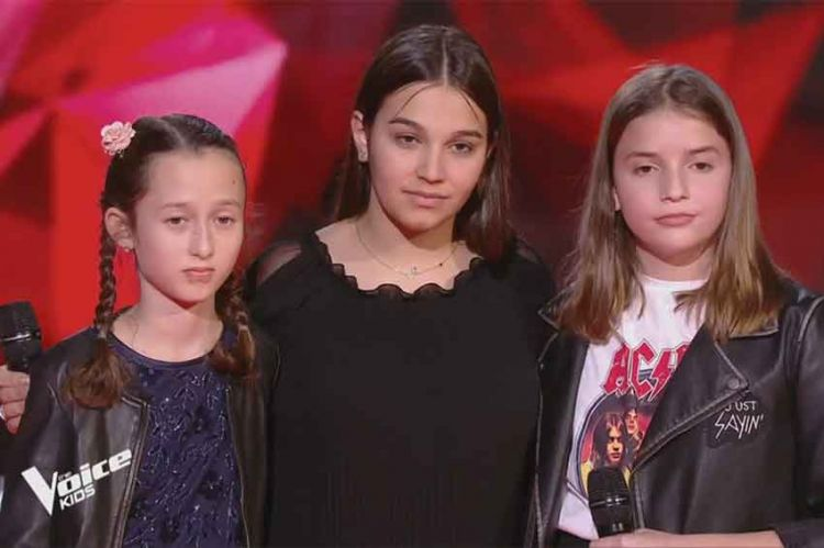 "Replay ""The Voice Kids"" : Eva, Valéria & Manon « Flames » de David Guetta & Sia (vidéo)"