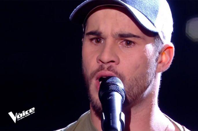 "Replay ""The Voice"" : Antony Trice chante « Casting » de Christophe Maé (vidéo)"