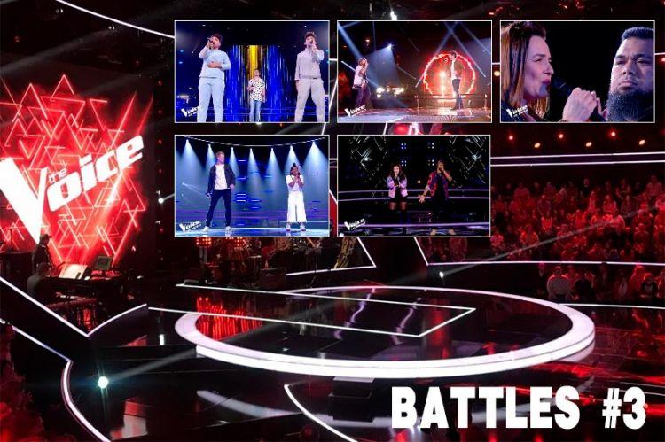 """Replay """"The Voice"""" samedi 21 mars : voici les 5 Battles de la 3ème soirée (vidéo)"""