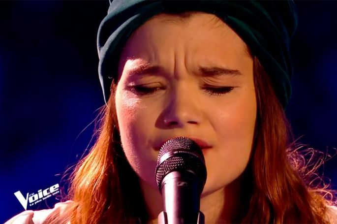 "Replay ""The Voice"" : Louise Combier chante « Ton héritage » de Benjamin Biolay (vidéo)"