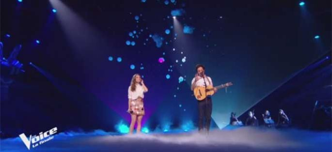 "Replay ""The Voice"" : Maëlle & Vianney chantent « Je m'en vais » en finale (vidéo)"