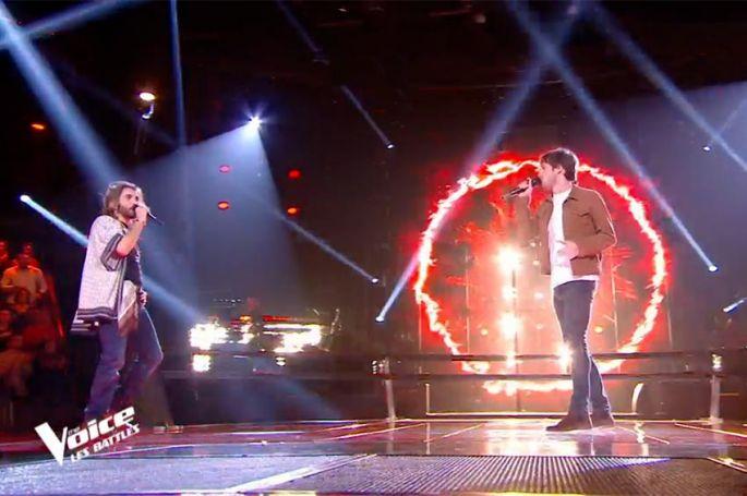 "Replay ""The Voice"" : Loïs Vaccheta & Pierre chantent « Light my fire » de The Doors (vidéo)"