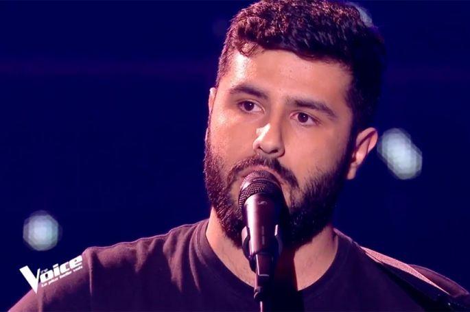 """Replay """"The Voice"""" : Don Pierre chante « Du bout des lèvres » de Barbara (vidéo)"""