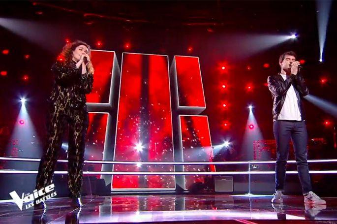 """Replay """"The Voice"""" : Zacharie Dolce & Clara Polaire chantent « Comment est ta peine ? » de Benjamin Biolay (vidéo)"""