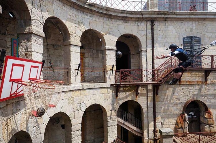 """""""Fort Boyard"""" samedi 5 septembre : les vidéos des moments forts de l'équipe Sidonie Bonnec"""