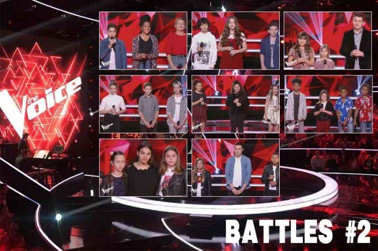 """Replay """"The Voice Kids"""" vendredi 4 octobre : les 8 battles de la soirée (vidéo)"""