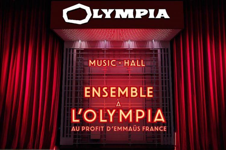 """""""Ensemble à l'Olympia"""" : concert solidaire mardi 9 juin sur C8, les artistes sur scène"""