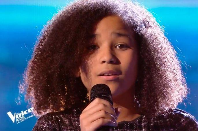 """Replay """"The Voice Kids"""" : Rania chante « SOS d'un terrien en détresse » de Daniel Balavoine (vidéo)"""