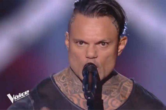 """Replay """"The Voice"""" : Mano chante « Enter Sandman » de Metallica (vidéo)"""
