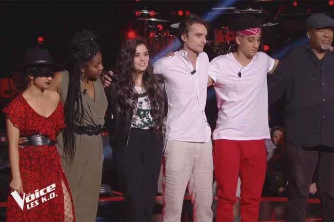 The Voice : le verdict pour les 6 talents de Soprano en Zone Rouge (vidéo)