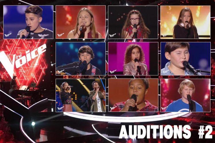 """Replay """"The Voice Kids"""" vendredi 19 octobre : voici les 10 talents sélectionnés (vidéo)"""