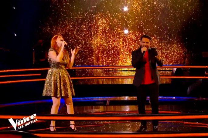 "Replay ""The Voice"" :  Sarah Schwab & Fayz chantent « Desert Rose » de Sting et Cheb Mami (vidéo)"