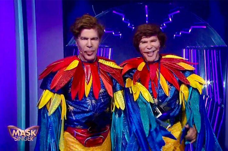 """""""Mask Singer"""" : Perroquets étaient... Igor et Grichka Bogdanoff ! Regardez leur démasquage (vidéo)"""