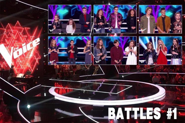 """Revoir """"The Voice Kids"""" : les 6 battles diffusées vendredi 9 novembre sur TF1 (vidéo)"""
