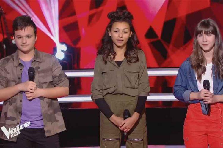 """Replay """"The Voice Kids"""" : Leticia, Mathias, Océane « Wrecking Ball » de Miley Cyrus (vidéo)"""