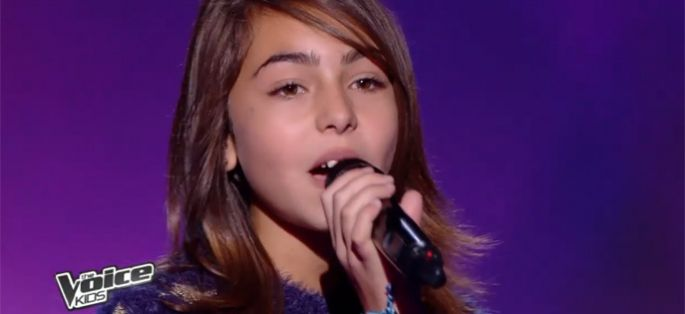 "Replay ""The Voice Kids"" : Carla reprend en direct « Eblouie par la nuit » de Zaz en finale (vidéo)"