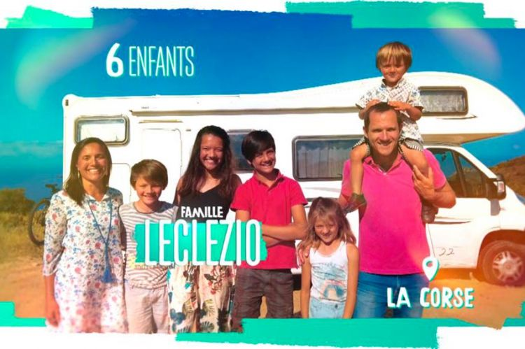 """""""Familles nombreuses : la vie au soleil"""" : découvrez la famille Leclezio dès le 16 août sur TF1"""