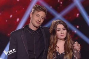 "Replay ""The Voice"" : Louna & Godi « Tu t'laisses aller » de Charles Aznavour (vidéo)"