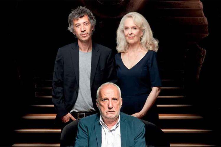 """La pièce """"Ramses II"""" avec François Berléand, Éric Elmosnino, Évelyne Buyle en direct sur C8 samedi 2 mars"""