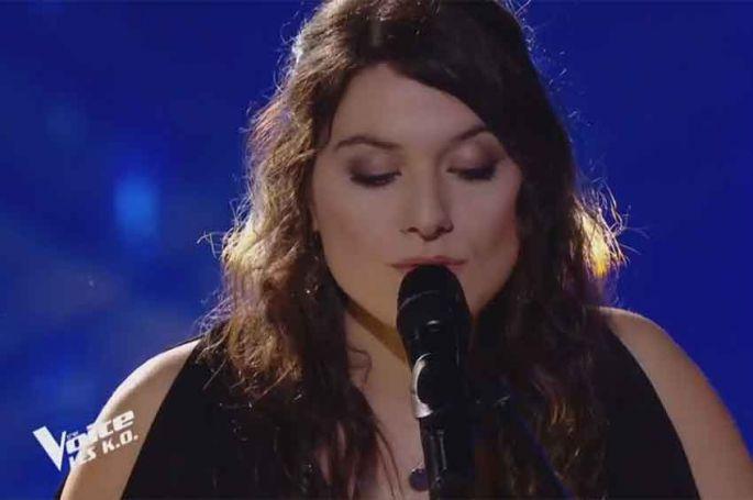 """Replay """"The Voice"""" : Claire chante « Forteresse » de Michel Fugain (vidéo)"""