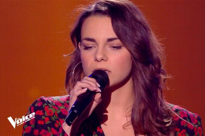 """Replay """"The Voice"""" : Alexia chante « Somewhere Over The Rainbow » de Judy Garland (vidéo)"""