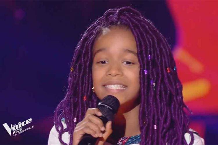 """Replay """"The Voice Kids"""" : Talima chante « Papaoutai » de Stromae (vidéo)"""