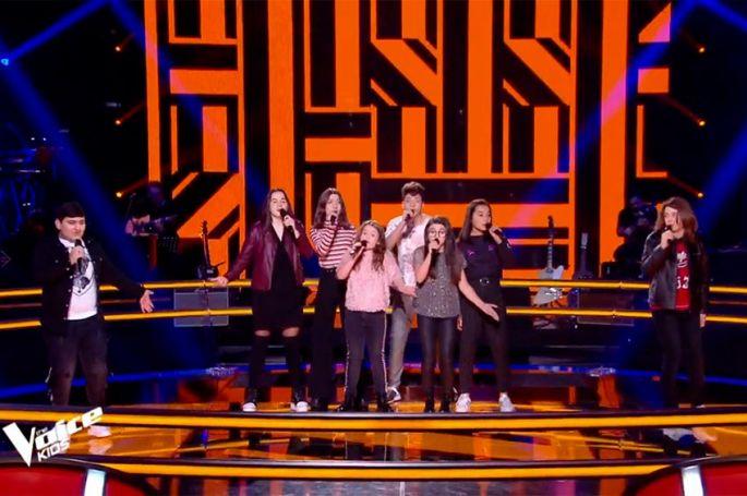 """Replay """"The Voice Kids"""" :  Musical Kids, Samvel & Julien chantent « Plus tard » de Bigflo et Ol (vidéo)"""