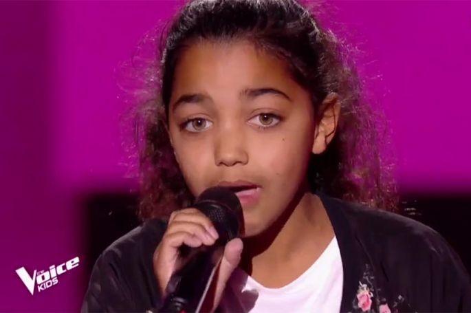 "Replay ""The Voice Kids"" : Rosie chante « Mon coeur, mon amour » d'Anaïs (vidéo)"