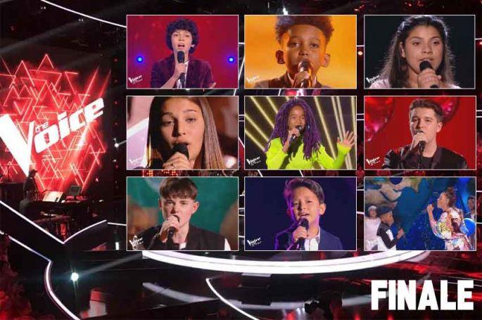 """Replay """"The Voice Kids"""" : toutes les prestations de la finale (vidéo)"""