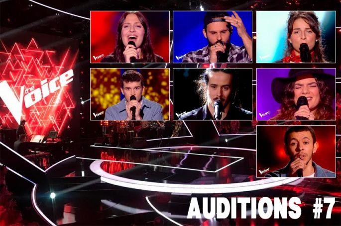 """Replay """"The Voice"""" samedi 20 mars : voici les 7 derniers talents sélectionnés (vidéo)"""