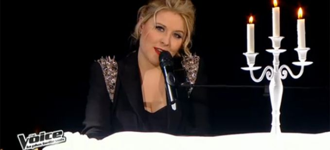 "Vidéo Replay ""The Voice"" : Marlène Schaff interprète « The Edge of Glory » de Lady Gaga"