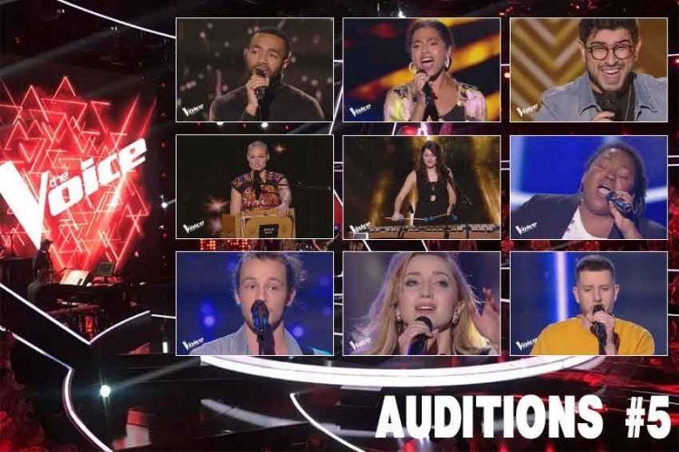 Replay the voice samedi 9 mars voici les 9 talents s lectionn s cette semaine vid o - A2 replay on est pas couche ...