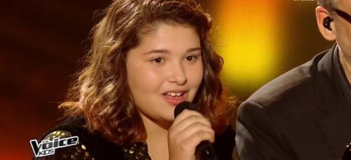 "Replay ""The Voice Kids"" : Coline chante « Qui a le droit » de Patrick Bruel (vidéo)"
