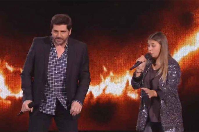 """Replay """"The Voice Kids"""" : Patrick Fiori & Manon « Vivre ou survivre » de Daniel Balavoine (vidéo)"""