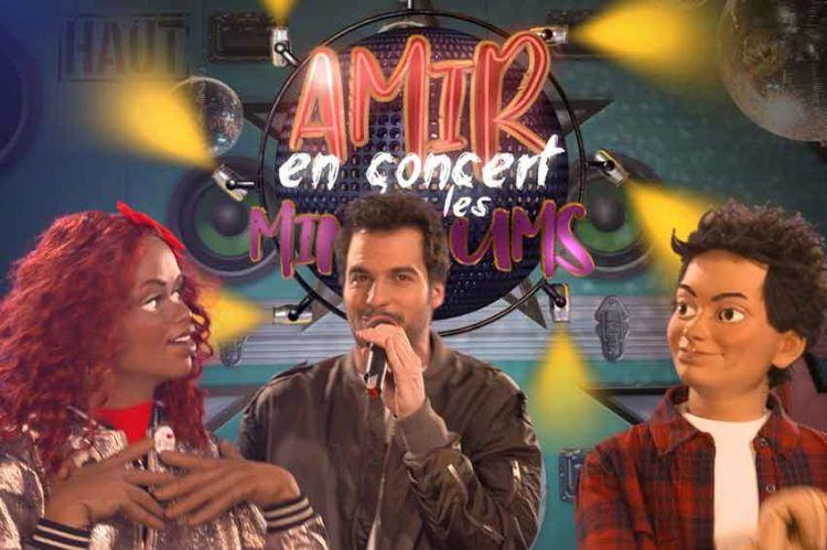 Les Minikeums reçoivent Amir mercredi 27 mars sur France 4