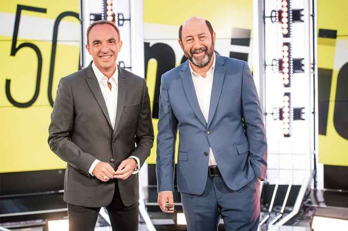 """50mn Inside"" : Kad Merad sera l'invité de Nikos Aliagas samedi 21 septembre sur TF1"