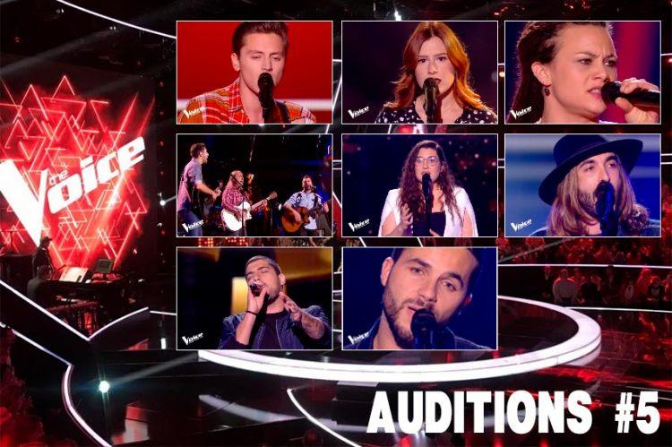 """Replay """"The Voice"""" samedi 15 février : voici les 8 talents sélectionnés par les coachs cette semaine (vidéo)"""
