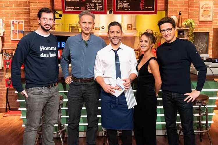 """""""Burger Quiz"""" : Gérard Darmon et Manu Payet prennent les commandes mercredi soir sur TMC"""