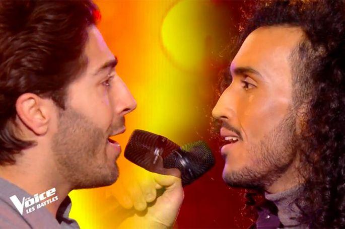 """Replay """"The Voice"""" : Marvin & Wahil chantent « L'envie d'aimer » de Daniel Lévi (vidéo)"""
