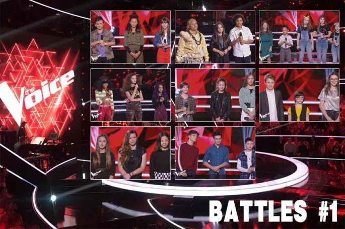 """Replay """"The Voice Kids"""" vendredi 27 septembre : les 8 battles de la soirée (vidéo)"""