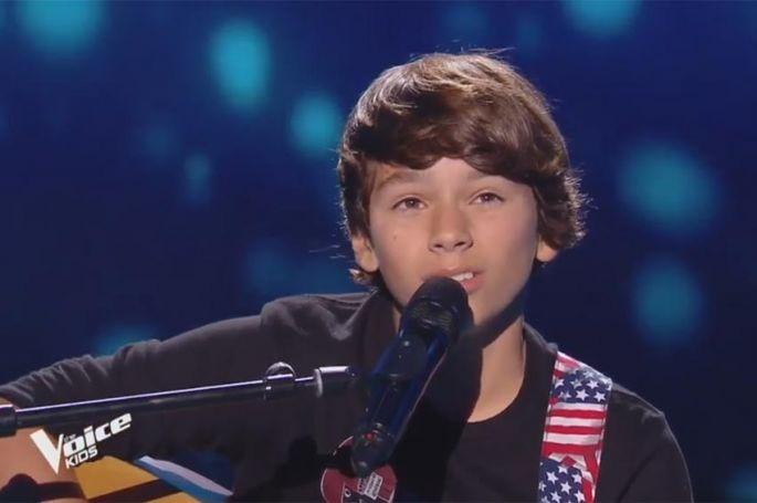 """Replay """"The Voice Kids"""" : Lilian chante « Let it go » de James Bay (vidéo)"""