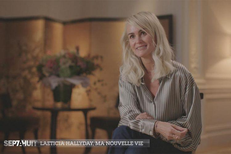 """""""Sept à Huit"""" : Laeticia Hallyday raconte sa vie sans Johnny dans le « Portrait de la semaine », ce 18 octobre sur TF1"""