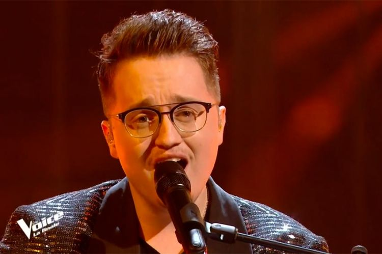 "Replay ""The Voice"" : Antoine Delie chante « La pluie » d'Orelsan en finale (vidéo)"