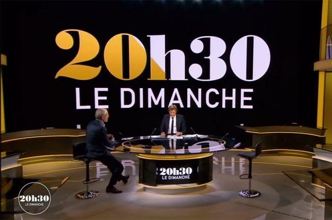 """""""20h30, le dimanche"""" : Dany Boon & Véronique Sanson invités de Laurent Delahousse sur France 2"""